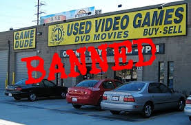 used-video-games-banned